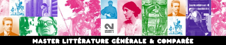 Master Littérature générale et comparée, Université Rennes 2